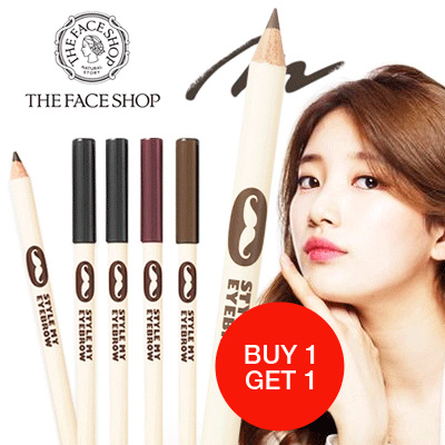 [Special March Buy 1 Get 1 Free] THE FACE SHOP - Lovely Me:ex Style My Eyebrow Wood