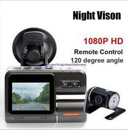 Single Lens Car Camcorder i1000 Car DVR Dual Camera HD 1080P Dash Cam Black Box With Rear 2 Cam Vehi