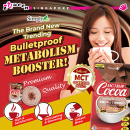【Simply】- MCT Bulletproof Cocoa 8s ♥ Body Slimming N Energy ♥