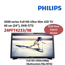 Philips 24PFT4233/98 4200 series Full HD Ultra Slim LED TV with DVB-T/T2 |24PHT4003