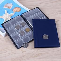 560218e2489 Practical Coins Album Book Penny Specie Collection Holders Storage Pocket  Coins Folder Holder