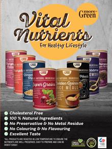 More Green Multigrain Meals ♥ 8 Black Meal ♥ Almond Pine Nuts ♥ Super Grains ♥Buy 6 get 1 free