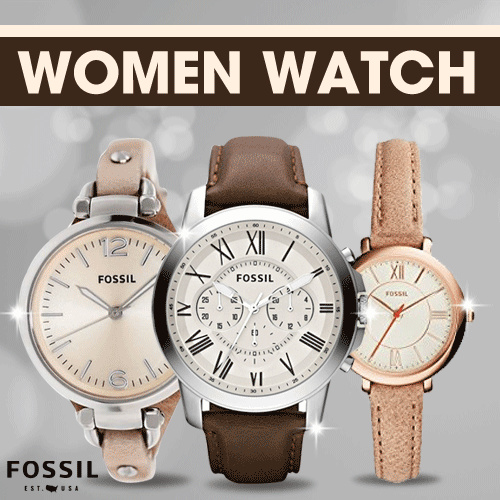 [FOSSIL] Jam Tangan Wanita Deals for only Rp1.053.750 instead of Rp1.053.750