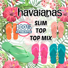 [HAVAIANAS] All HAVAIANAS Slippers Flip Flop / Slim / TOP / TOP MIX Special Offers !