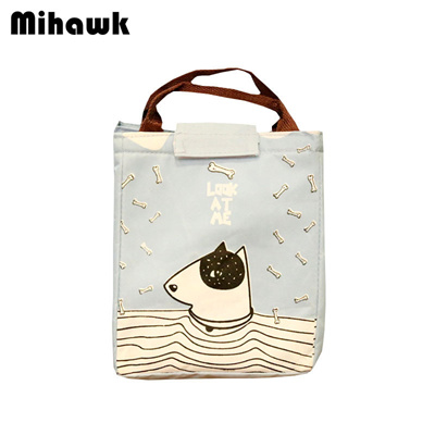 34f3a31f63ea Cartoon Cute Lunch Bags Women Portable Drink Food Container Thermal Ice  Cooler Picnic Bento Box
