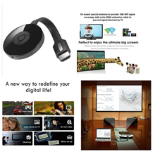 2017 1080P Wifi Display Dongle Converter Adapter For Google Chromecast 2 Digital HD HDMI Media Playe