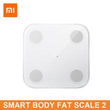 Xiaomi Smart Body Fat Scale 2 Weighing Scale Bluetooth 5.0 Bathroom BMI Fat Analyzer APP Gym Weight