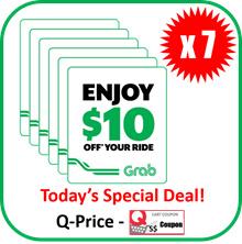 Grab $10 E-Voucher Code X 7EA | Bulk SALE
