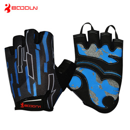 Boodun cycling mountain bike gloves padded palm breathable wear men s half finger riding gloves wome