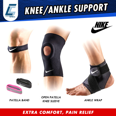 ea5e47a970 NIKE NEW OPEN PATELLA KNEE SLEEVE/ NEW ANKLE WRAP/ANKLE SLEEVE
