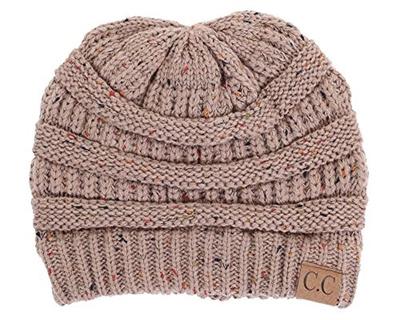 Funky Junque FunkyJunque C.C Confetti Knit Beanie - Thick Soft Warm Winter  Hat - Unisex 9d62bc67d9a0