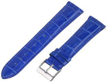 Swiss Watch International 21 MM Royal Blue Genuine Alligator Strap 21AAT53M