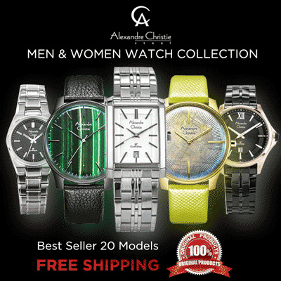 [Alexandre Christie] Watches Collection Deals for only Rp617.000 instead of Rp617.000