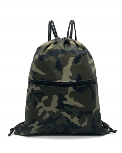 215b4aa5b866 HOLYLUCK Men Women Outdoor Sport Gym Sack Waterproof Drawstring Backpack  Bag(Black)