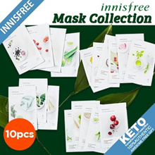 [Innisfree] New my real squeeze mask pack/Skin clinic/quick tone up/lifting