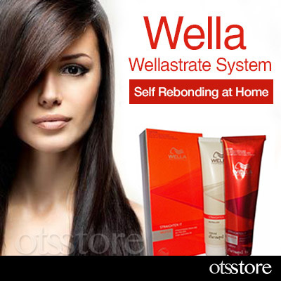Wella 60 Off Wellastrate Hair Straightener Permanent Straightening Cream Kit