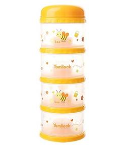 ★ YOMILOCK ★Antibacterial  4-stage milk case / 3 COLOR / Portable / Travel / Baby