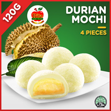 RITZ l Durian Mochi 4 pieces 120gm per box l Collection at 6 Locations