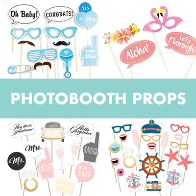 6aaa3c74b3aa8 Party Wedding Baby Shower Birthday Photobooth Props Sets 📷 Fast delivery!