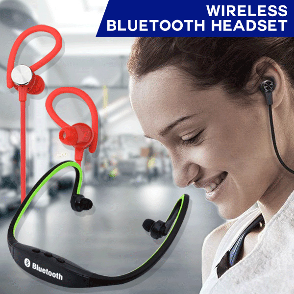 [CHEAPEST EVER] Wireless Bluetooth Headset 4.1 Sport Deals for only Rp110.000 instead of Rp110.000