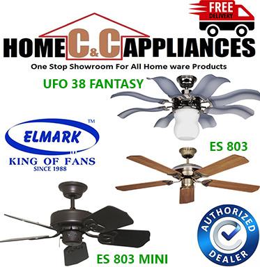 Elmark ES 803 MINI Ceiling Fan | UFO 38 Fantasy | Remote Control |