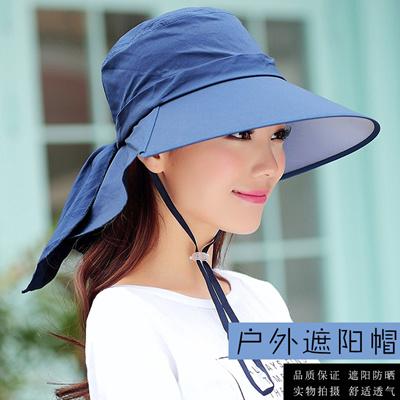 ce7abecc27f78 Electric car sun visor Hat Lady Korean UV Sun Hat riding in the summer sun  hats