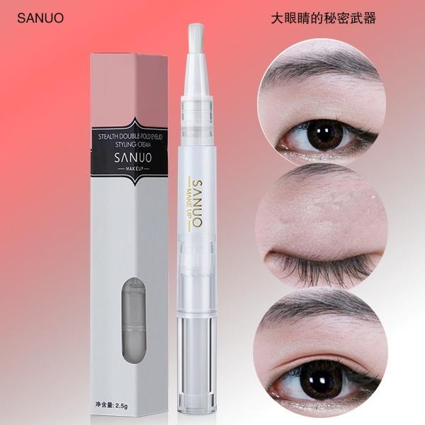 SANUO double eyelid cream, double eyelid double eyelid artifact, invisible  double eyelid cream, Beau