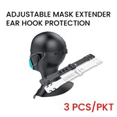 ProShield Adjustable Ear Hook Mask Extender Protection (3pcs/pack)