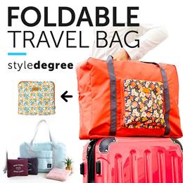 ✈️ NO.1 TRAVEL STORE! ★ Foldable Travel Bags Smart Foldable Bag/Suitcase Tags Passport Organizer Bag