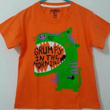 Baju Anak | Kaos Anak Karakter Grumpy Orange Size 1 - 6 Tahun