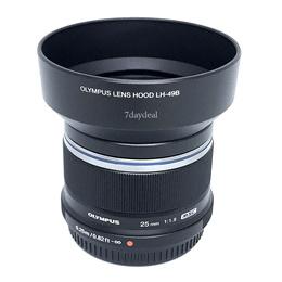 Olympus 25mm f1.8 M.Zuiko Digital Lens (Black / Silver)