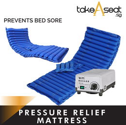 Pressure Relief Mattress | Anti Bedsore Air Mattress Bed | 3 Inch Thick |  Electric Air Pump