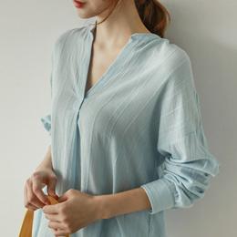 [CHICHERA] Korean fashion NO.1 / Fork blouse 18SS.W