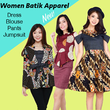 Dress Batik Wanita Modern Batik Fashion Kebaya Bruklat ARLO