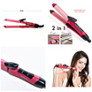 Nova 2 in 1 Hair Beauty Set Curl  Straight with Temperature Control