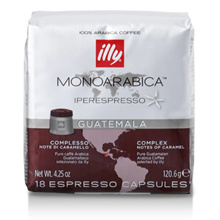 Illy Capsule Coffee 18 pieces