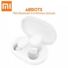 Xiaomi Mi AirDots TWS Bluetooth Earphones Lite Wireless In-ear Earbuds with Mic and Charging Dock