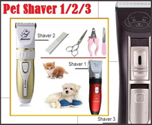 Cordless Pet Shaver/ Trimmer - Suitable for cats dogs rabbits. Safe quiet and low vibration!!