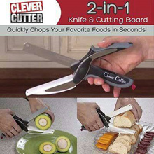 CLEVER CUTTER | gunting pemotong sayur pisau