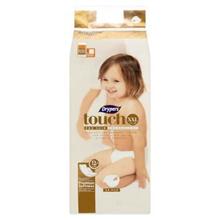 Drypers Touch XXL 15+kg Diapers 36pcs [Halal Certification]