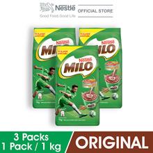 NESTLE MILO ACTIV-GO POWDER Soft Pack 1kg , Bundle of 3