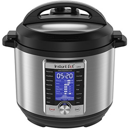[INSTANT POT] Ultra 6 Qt 10-in-1 Multi- Use Programmable Pressure Cooker, Slow Cooker, Rice Cooker,