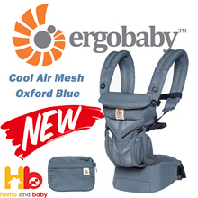Ergobaby OMNI 360 All-In-One Cool Air Mesh Baby Carrier - Oxford Blue