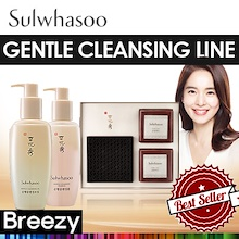 BREEZY ★ [Sulwhasoo] Gentle Cleansing Line / Cleansing Foam 200ml / Cleansing Oil 200ml / Herbal Soa