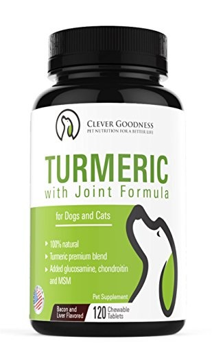 Turmeric for dogs - Joint Supplement for Dogs With Turmeric Curcumin +  Glucosamine Chondroitin &