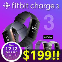 🔥12.12 SALE - $199!!🔥 Fitbit Charge 3 Fitness Activity Tracker /New Release Fall/2018