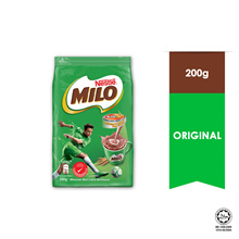 NESTL MILO ACTIV-GO CHOCOLATE MALT POWDER Soft Pack 200g