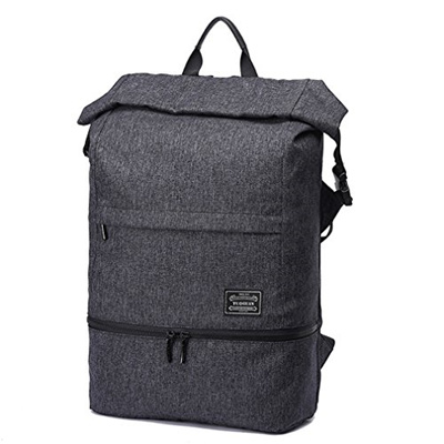 f6b777d93db9 LYCSIX66 Work Gym Bag w Shoe Pocket Anti Theft Travel Backpack Fit 17 Laptop