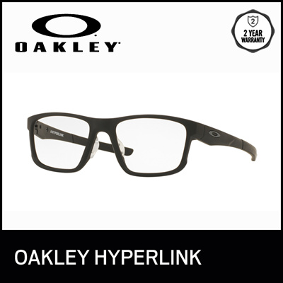 18ac93ca32a Oakley Optical Eyeglasses Hyperlink - OX8051 805101 - size 54 - Popular