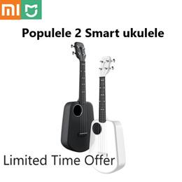 Xiaomi Populele 2 LED Bluetooth Smart Ukulele from Xiaomi Soprano Ukulele Concert 4 Strings 23 Inch